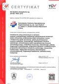 Certyfikat EN ISO 14001:2015 - miniatura certyfikatu - powiększ zdjęcie